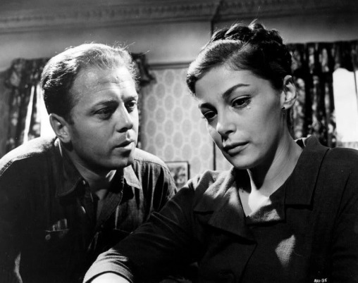 Richard-Attenborough-Pier-Angeli-Angry-Silence