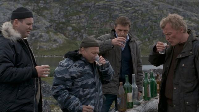 Leviathan vodka drinking